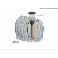 ELCU-3000l KOMPLET Plastová nádoba na využití dešťové vody *AD*