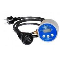 DPC10A digitální tlakový spínač 230V/50Hz/12A s vidlicí a zásuvkou